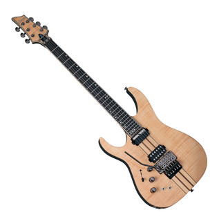 Schecter Banshee Elite-6 FR S Left Handed Electric Guitar, Natural