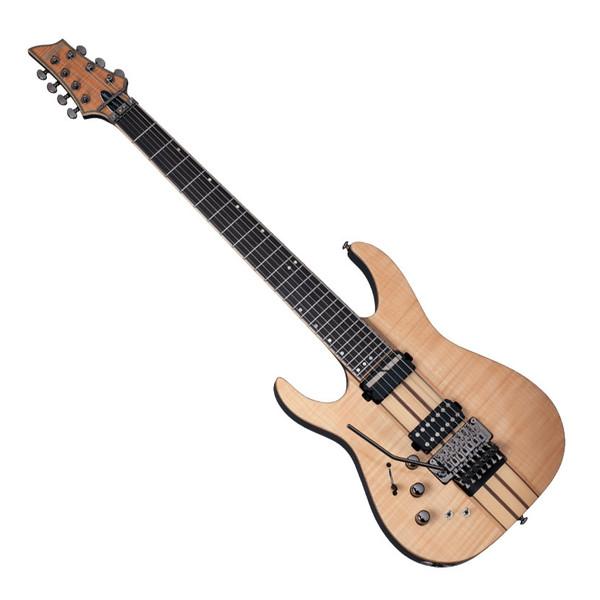 Schecter Banshee Elite-7 FR S Left Handed Electric Guitar, Natural