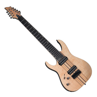 SchecterBanshee Elite-8 Left Handed Electric Guitar, Gloss Natural