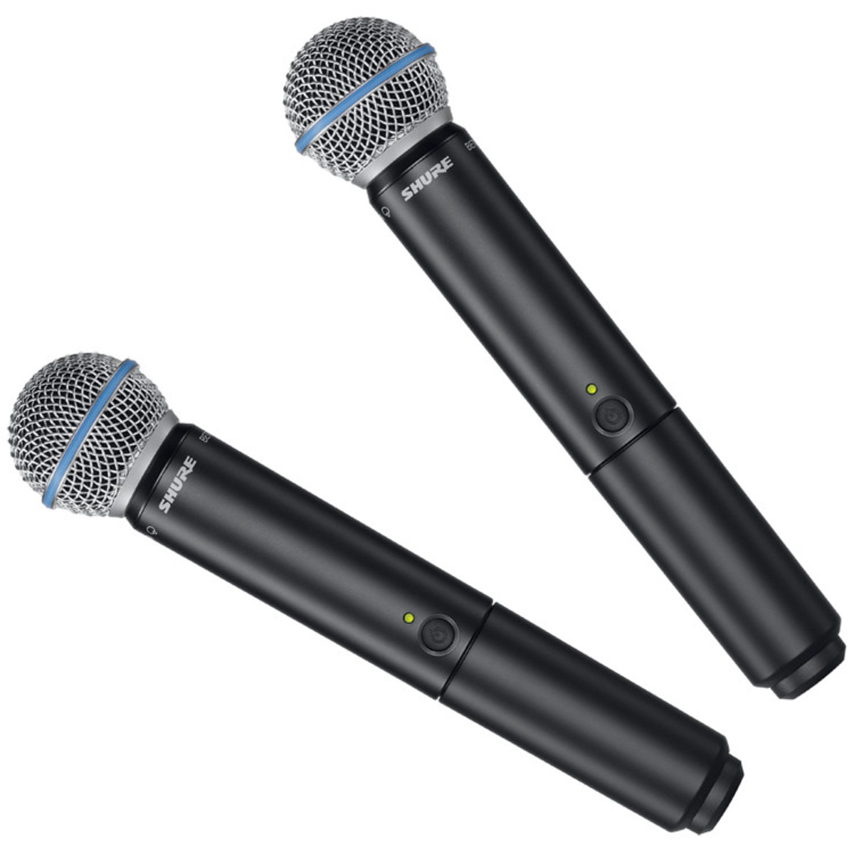 Shure BLX288UK B58 Beta 58A Dual Handheld Wireless Microphone System