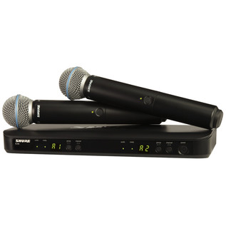 Shure BLX288UK/B58 Dual Handheld Wireless Microphone System