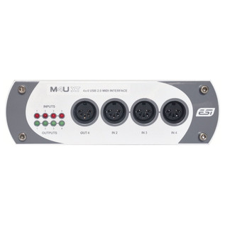 ESI M4U XT MIDI Interface - Front