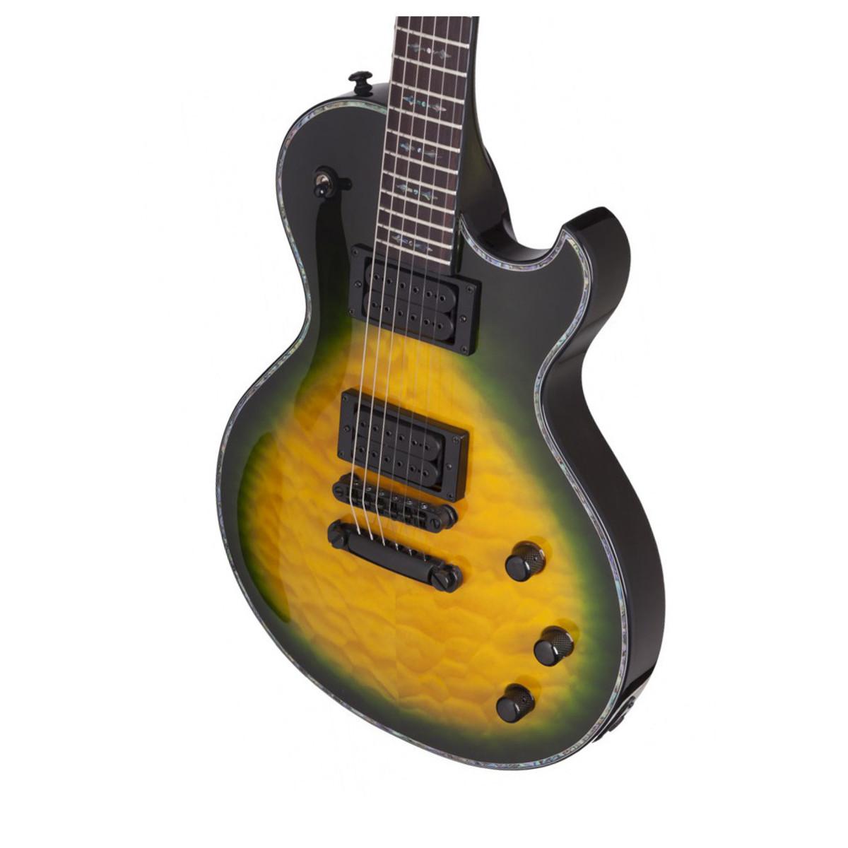 schecter hellraiser solo ii passive electric guitar dragon burst at gear4music. Black Bedroom Furniture Sets. Home Design Ideas