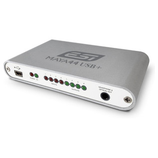 ESI MAYA44 USB+ USB Audio Interface - Angled