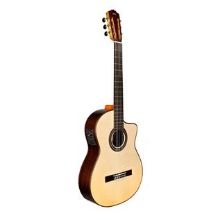 Cordoba GK Pro Negra Electro Acoustic Classical Guitar Side