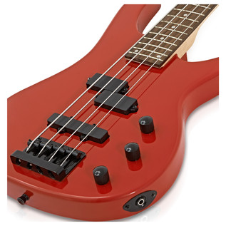 Lexington Electric Bass Guitar + Amp Pack, Red