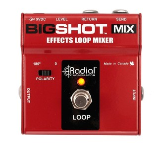 Radial Tonebone BigShot MIX Effects Mixer Front