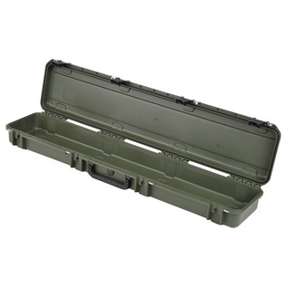 SKB iSeries 4909-5 Waterproof Case (Empty), Olive Drap - Angled Open 2