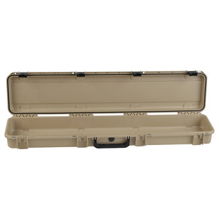 SKB iSeries 4909-5 Waterproof Case (Empty), Tan - Front Open