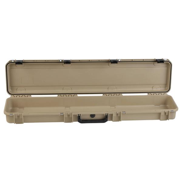 SKB iSeries 4909-5 Waterproof Case (Empty), Tan - Front Open