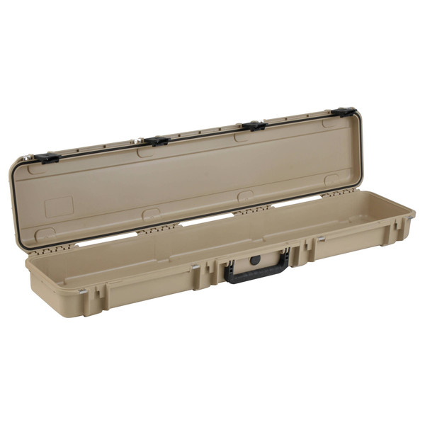 SKB iSeries 4909-5 Waterproof Case (Empty), Tan - Angled Open