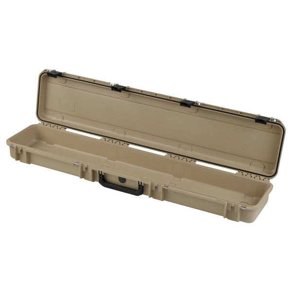 SKB iSeries 4909-5 Waterproof Case (Empty), Tan - Angled Open 2