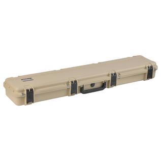 SKB iSeries 4909-5 Waterproof Case (Empty), Tan - Angled Closed 2