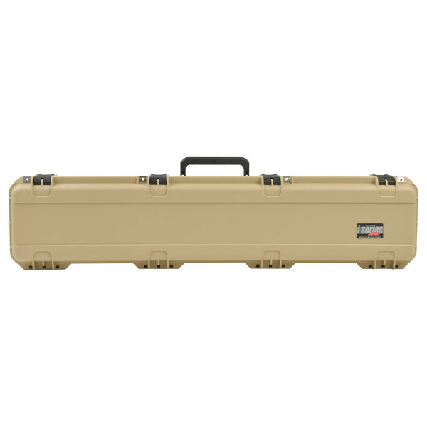 SKB iSeries 4909-5 Waterproof Case (With Layered Foam), Tan - Front Closed