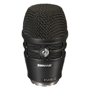 Shure KSM8 Dualdyne Dual Diaphragm Dynamic Microphone, Black Bundle