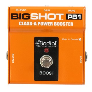 Radial Tonebone BigShot PB1 Class-A Power Booster Front