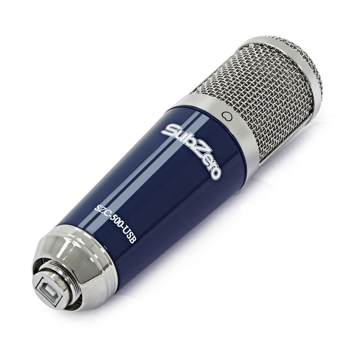 subzero szc 500 usb condenser microphone recording pack at. Black Bedroom Furniture Sets. Home Design Ideas