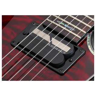 Hellraiser C-1 FR S Electric Guitar, Black Cherry