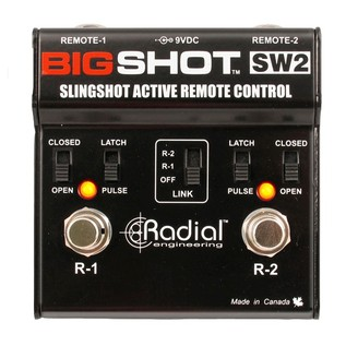 Radial Tonebone BigShot SW2 Remote Footswitch Front