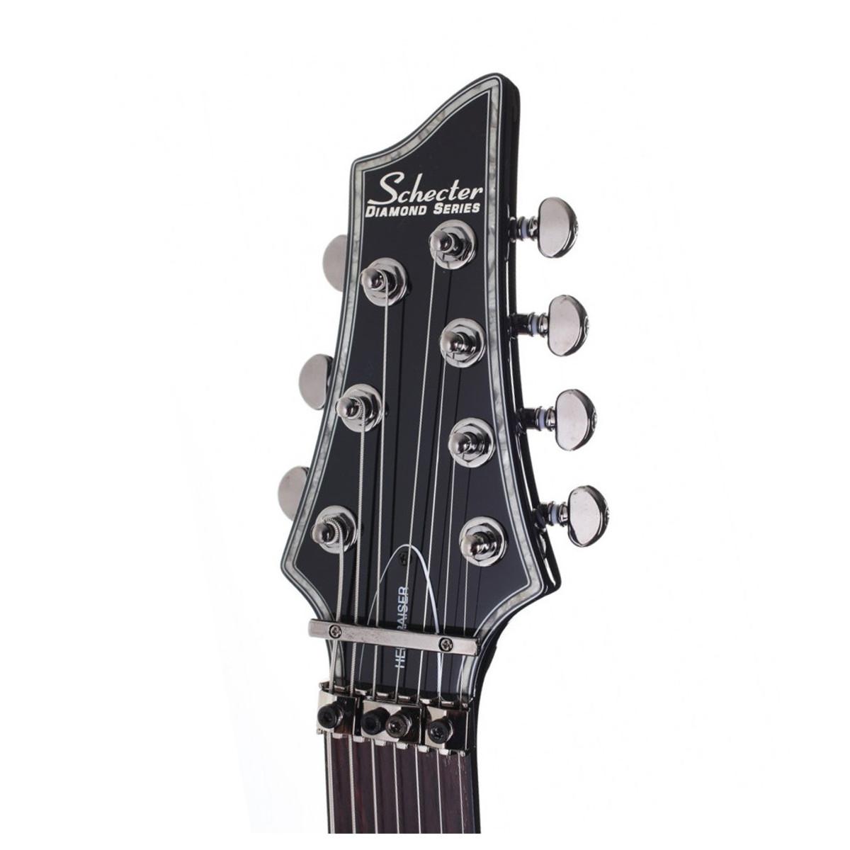 schecter hellraiser c 7 fr electric guitar gloss black at gear4music. Black Bedroom Furniture Sets. Home Design Ideas