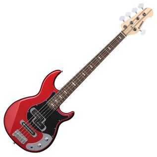 Yamaha BB425X 5-String Bass Guitar, Red Metallic -