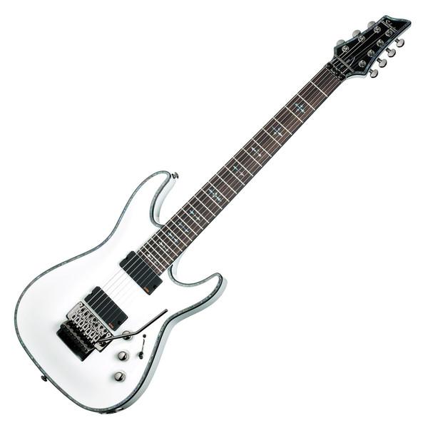 Schecter Hellraiser C-7 FR Electric Guitar,Gloss White