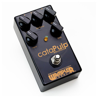 Wampler cataPulp British Distortion Pedall- Front