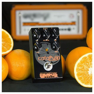 Wampler cataPulp British Distortion Pedal- citrus amp