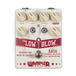 Wampler Low Blow Bass Overdrive Pedal