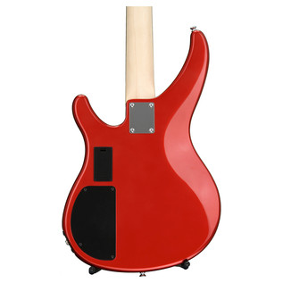 Yamaha TRBX204 4-String Electric Bass Guitar, Bright Red Metallic - Rear Body