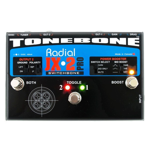 Radial Tonebone Switchbone ABY Switcher Front