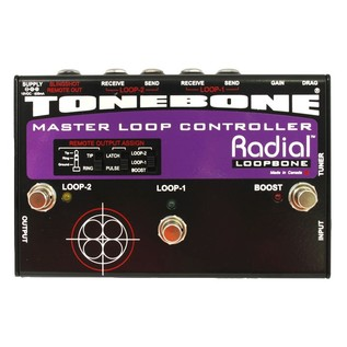 Radial Tonebone Loopbone Effects Loop Controller Front