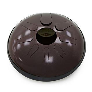Idiopan Domina 12-Inch Steel Tongue Drum With Pickups, Dark Cherry