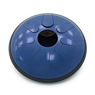 Idiopan Domina 12-Inch Steel Tongue Drum, Oceanic Blue