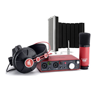 Focusrite Scarlett Studio Recording Package