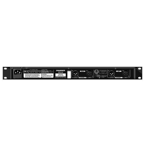 Drawmer SP2120 Stereo Speaker Protector Rear