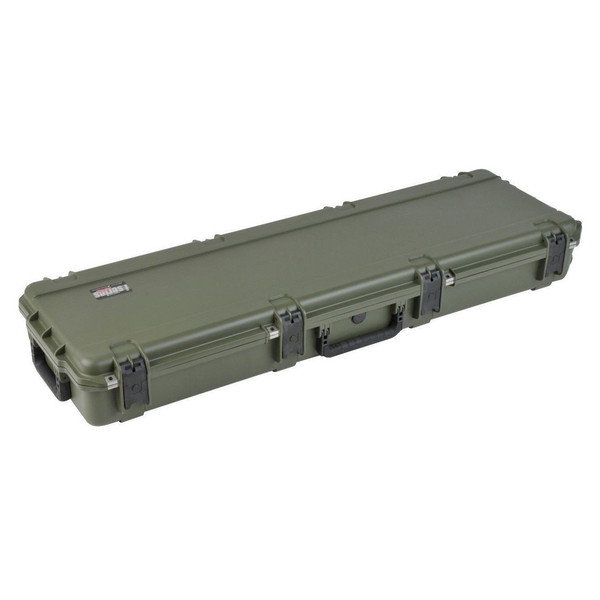 SKB iSeries 5014-6 Waterproof Case (Empty), Olive Drap - Angled Closed