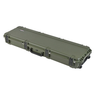 SKB iSeries 5014-6 Waterproof Case (Empty), Olive Drap - Angled Closed 3