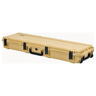 SKB iSeries 5014-6 Waterproof Case (Empty), Tan - Angled Flat