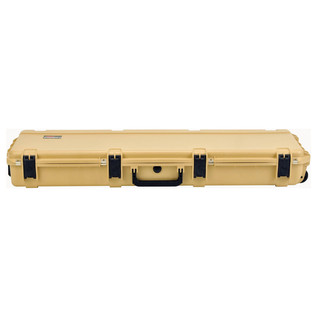 SKB iSeries 5014-6 Waterproof Case (Empty), Tan - Front Flat