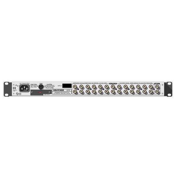 Drawmer LA12 Line Distribution Amplifier rear