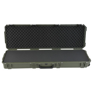 SKB iSeries 5014-6 Waterproof Case (With Layered Foam), Olive Drap - Front Open
