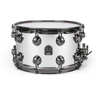 Natal Steel 14x8 Snare Drum w/ Brushed Nickel HW