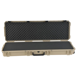 SKB iSeries 5014-6 Waterproof Case (With Layered Foam), Tan - Front Open
