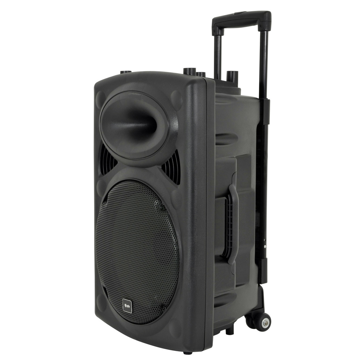 qtx qr12pa portable pa system with wireless mics at gear4music. Black Bedroom Furniture Sets. Home Design Ideas