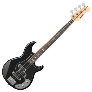 Yamaha BB1024X 4-String Bass Guitar, Black - Front Angled
