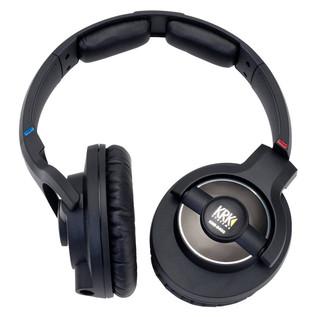 KRK KNS 8400 Professional Closed Back Dynamic Headphones, Case Bundle