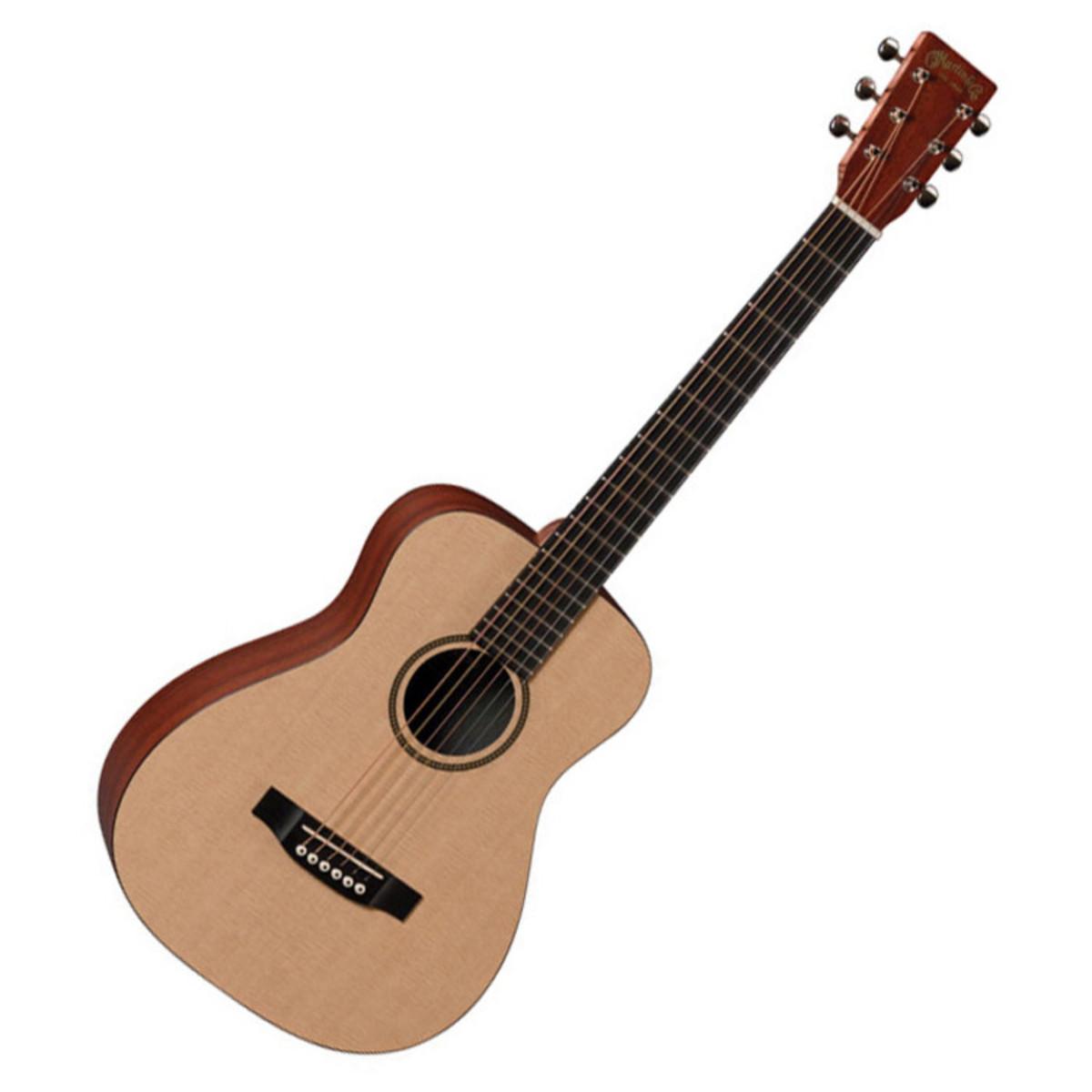 martin lx1 little martin guitar inc gig bag b stock at gear4music. Black Bedroom Furniture Sets. Home Design Ideas