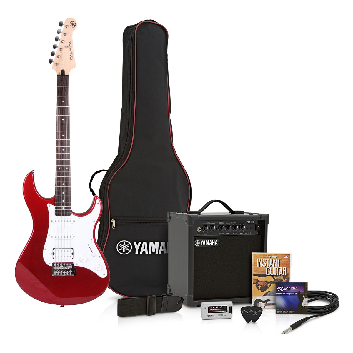 yamaha pacifica. yamaha pacifica 012 pack, red metallic - pack. loading zoom e