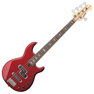 Yamaha BB425 5-String Bass Guitar, Red Metallic